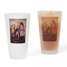 No Allegiance to the Crown Drinking Glass