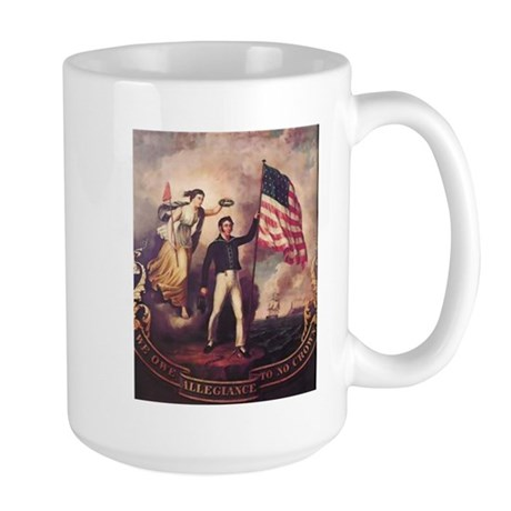 No Allegiance to the Crown Large Mug