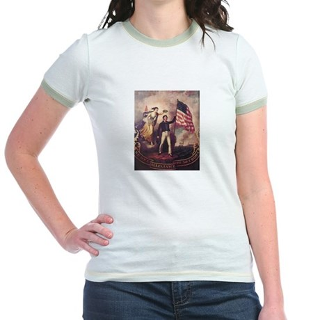No Allegiance to the Crown Jr. Ringer T-Shirt