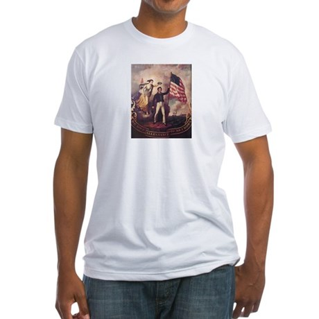 No Allegiance to the Crown Fitted T-Shirt