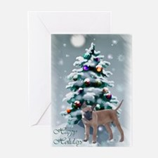 Belgian Malinois Christm Greeting Cards (Pk of 20)