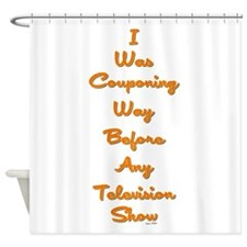 I WAS COUPONING... Shower Curtain