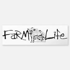 Farm Life Bumper Bumper Sticker