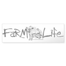 Farm Life Bumper Sticker
