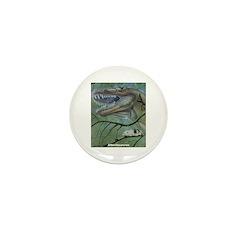 Albertosaurus Dinosaur Mini Button (10 pack)