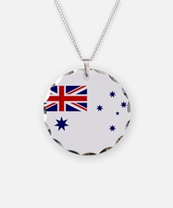 Naval Ensign of Australia Necklace
