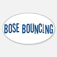 Bose Bouncing Oval Decal