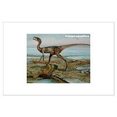 Compsognathus Dinosaur Posters