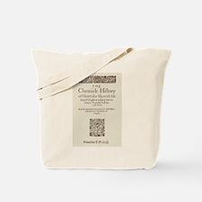 Henry V 1608 Tote Bag
