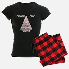 Peruvian Food Pyramid Pajamas