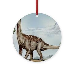 Sallasaurus Dinosaur Ornament (Round)