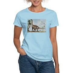 Sallasaurus Dinosaur Women's Pink T-Shirt