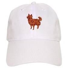 Chihuahua Longhair Baseball Cap