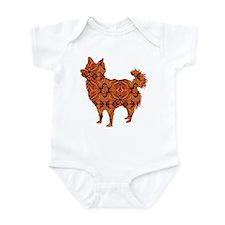 Chihuahua Longhair Infant Bodysuit