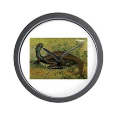 Citipati Dinosaur Wall Clock