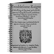 King John 1591 Journal
