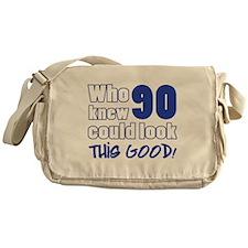 90 Years Old Looks Good Messenger Bag
