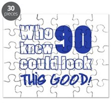 90 Years Old Looks Good Puzzle