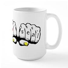 I love seal Knuckles Mug