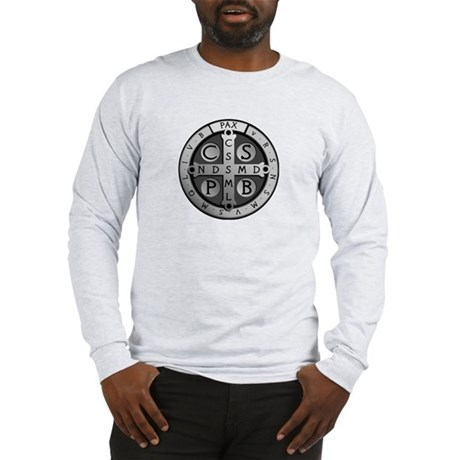 St. Benedict Medal Long Sleeve T-Shirt