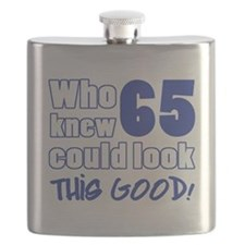 65 Years Old Looks Good Flask