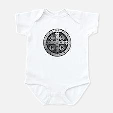 St. Benedict Medal Infant Bodysuit
