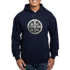 St. Benedict Medal Dark Hoodie