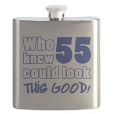 55 Years Old Looks Good Flask