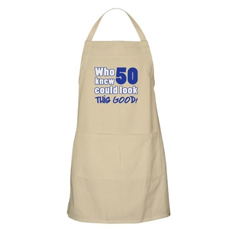 50 Years Old Looks Good Apron