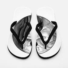 Yin Yang Brain Flip Flops