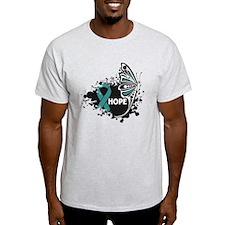Hope Peritoneal Cancer T-Shirt
