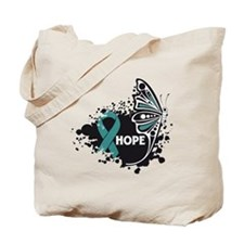 Hope Peritoneal Cancer Tote Bag