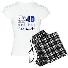 40 Years Old Looks Good Pajamas