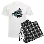 Hope Ovarian Cancer Men's Light Pajamas