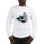 Hope Ovarian Cancer Long Sleeve T-Shirt
