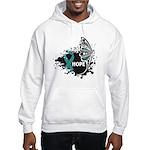 Hope Ovarian Cancer Hooded Sweatshirt