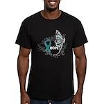 Hope Ovarian Cancer Men's Fitted T-Shirt (dark)
