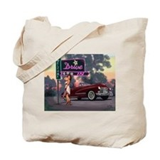 Welcome Drive In Tote Bag