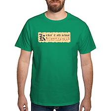 """""""Kickin' It Old School"""" T-Shirt"""