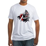 Hope Oral Cancer Fitted T-Shirt
