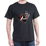 Hope Oral Cancer Dark T-Shirt