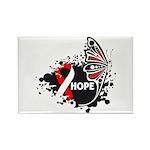 Hope Oral Cancer Rectangle Magnet (100 pack)