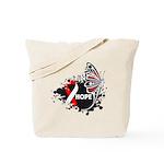 Hope Oral Cancer Tote Bag