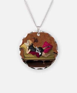 French Maid Secrets Pin-up Necklace