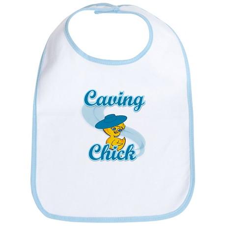 Caving Chick #3 Bib