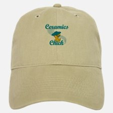 Ceramics Chick #3 Baseball Baseball Cap