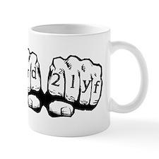 Nerd For Life Knuckles Mug