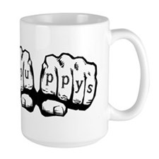 I love puppys Knuckles Mug