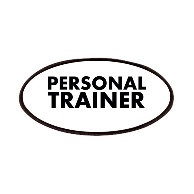 personal trainer blackwhite patches by cutetshirtsgift