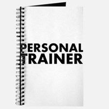 Personal Trainer Black/White Journal